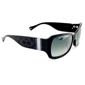 Coach embossed sunglasses